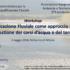 Materiali workshop sulla Riqualificazione Fluviale, 3 maggio 2016 al Politecnico di Milano.
