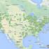 La mappa delle dighe rimosse degli Stati Uniti