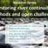 E-seminar 'Restoring river continuity: methods and open challenges' – 28 novembre 2017