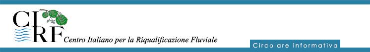 CIRF Cento Italiano per la Riqualificazione Fluviale