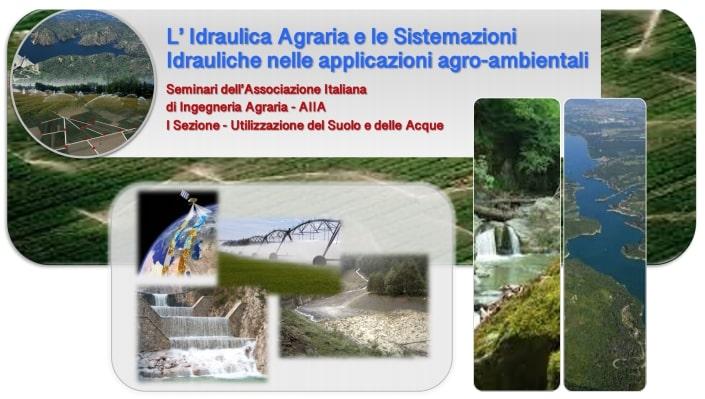 idraulica agraria webinar