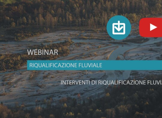 webinar Interventi di riqualificazione fluviale