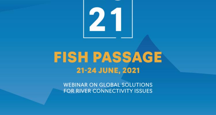 Locandina Conferenza internazionale Fish Passage 2021