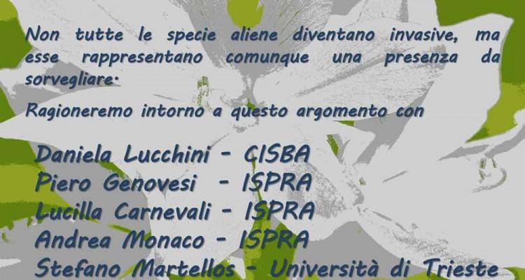 Flora e fauna sotto attacco - locandina evento CISBA